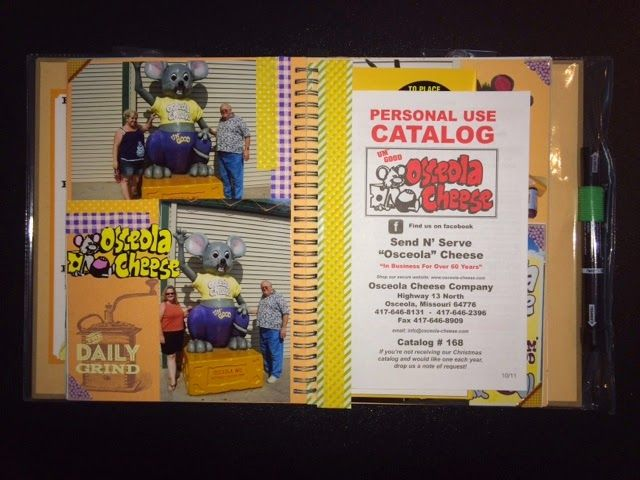 Rock, Paper, Scissors, & Scrap: Tasty Style Smashbook - Osceola Cheese Factory