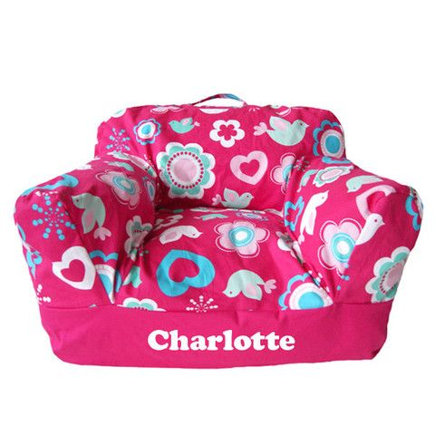 Personalised Beanbag Chair Flower Blossom
