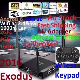 KIII K3 Jailbroken 2016 Exodus 4K Android 6 Box+W'less Keypad | Other Electronics & Computers | Gumtree Australia Manningham Area - Doncaster | 1118106198