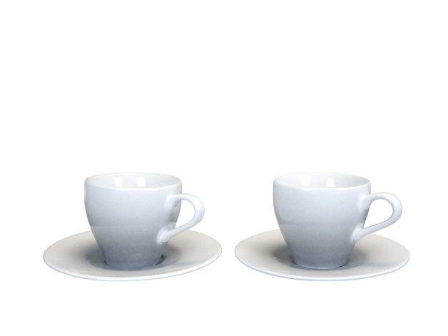 Filiżanka porcelanowa do espresso cieniowana 1 szt - Home4you - Kubki i filiżanki