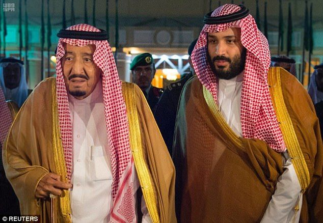 Saudi Arabia king Salman to step down next week & hand over the crown to his 32 y.o son