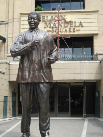 Nelson Mandela Square Johannesburg, South Africa