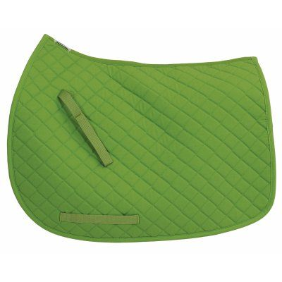 TuffRider Horse Basic Pony Saddle Pad Apple Green - 100411-258/322