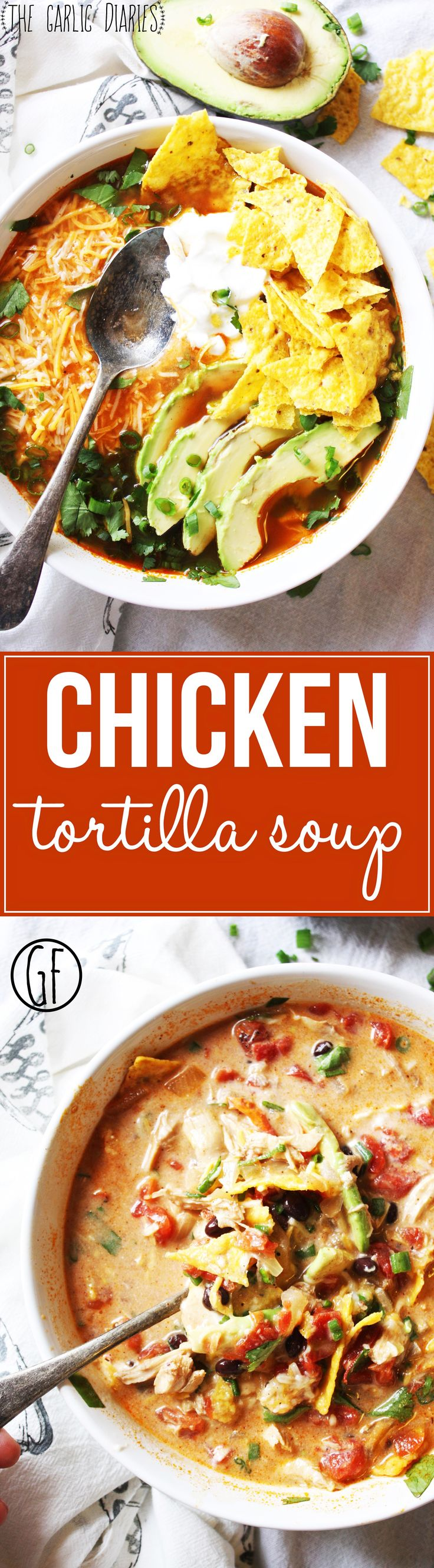 Chicken Tortilla Soup This soup is so easy and SO yummy It s all about