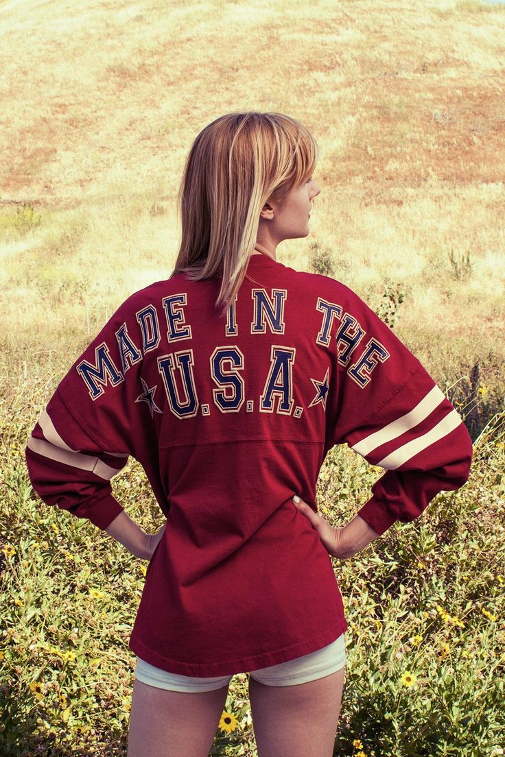 Made in the U.S.A. Spirit Jersey  Size: M Cost: $59