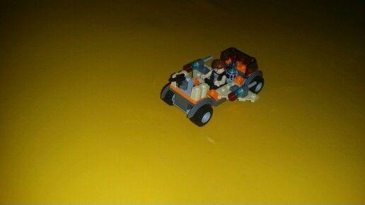 Desert raider. #lego #lego15min