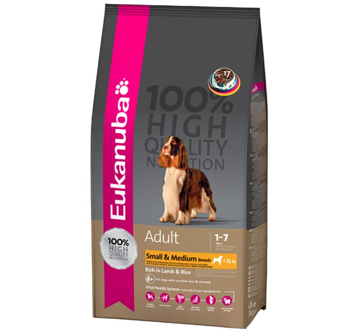 Eukanuba Dog Food Small medium Lamb and Rice 3 Kg Buy Online Dog Food http://www.dogspot.in/treats-food/