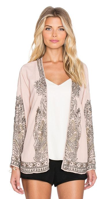 HOSS INTROPIA Floral swing blazer found on Nudevotion