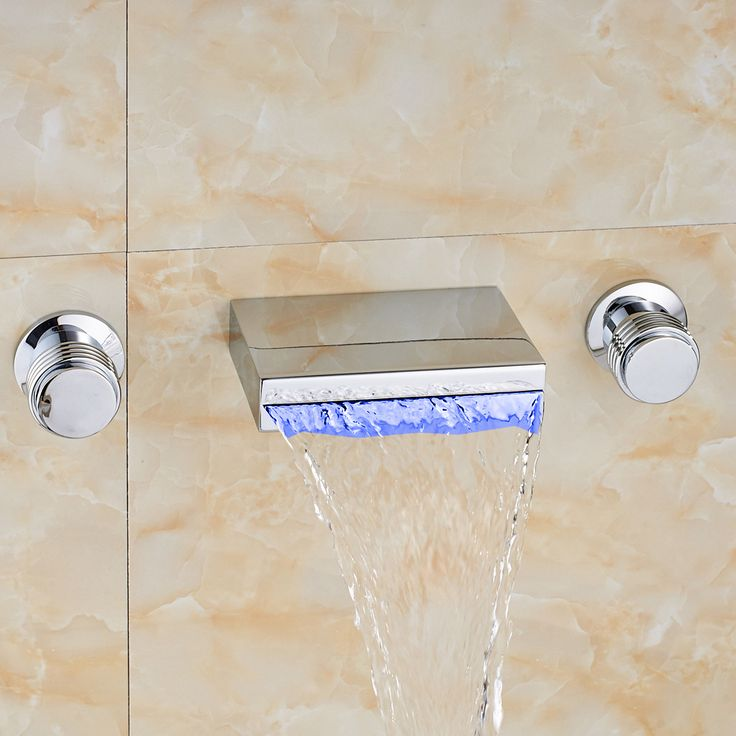 Bathroom Faucets That Say Hot And Cold best 25+ waterfall bathroom faucet ideas only on pinterest