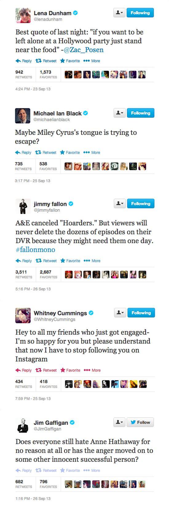 10 Funny Celebrity Tweets of the Week | Gallery ...