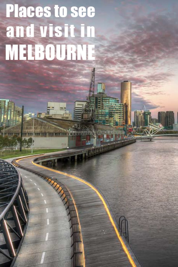 Melbourne is my home town, where I come back and rest between my trips. If you decide to visit this awesome city make sure to see these 15 places :D http://mel365.com/places-to-visit-in-melbourne/
