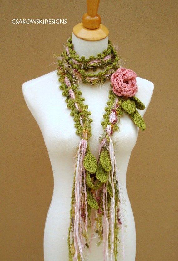Oversized Merino Wool Scarf - B&W FLOWERS MW by VIDA VIDA MvKeeII