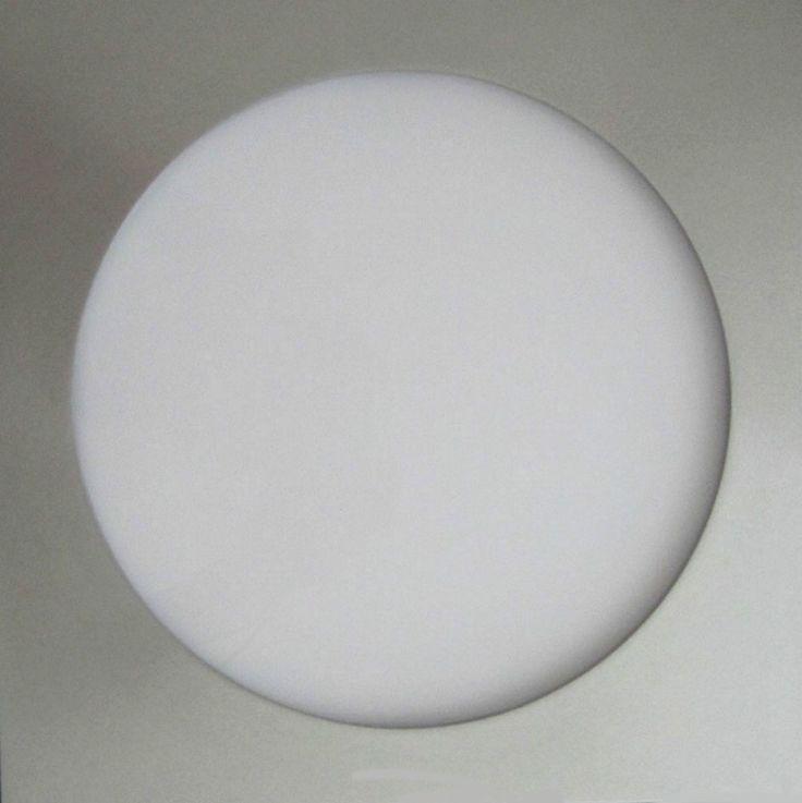 LED Panel 24x24 cm runde Leuchfläche 19 cm mit Fernbedienung  LED-Licht bringt ihnen ihre Investition zurück !