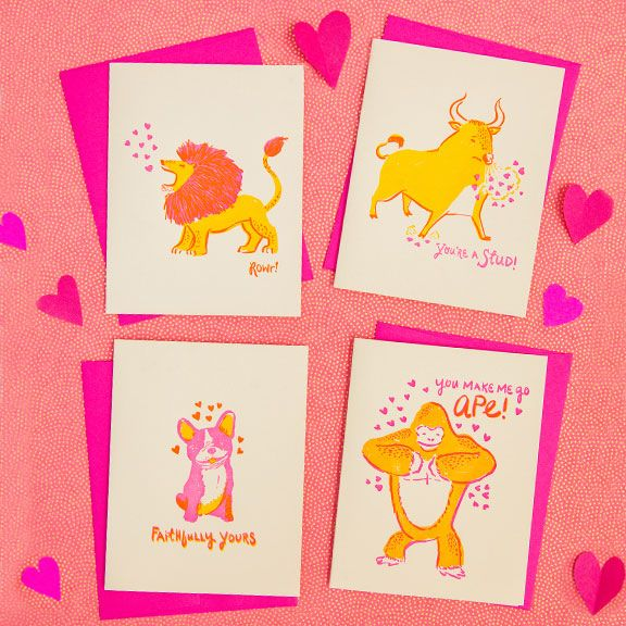 valentines day cards www.hellolucky.com