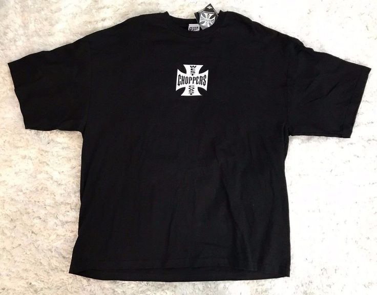 WEST COAST CHOPPERS Size 3XL New With Tags Men's Black TShirt by Jesse Who? #JesseWho #GraphicTee