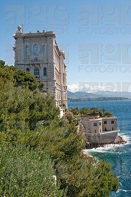 El Museo Oceanográfico, Mónaco, ciudad-estado soberana, Costa Azul, Europa Occidental