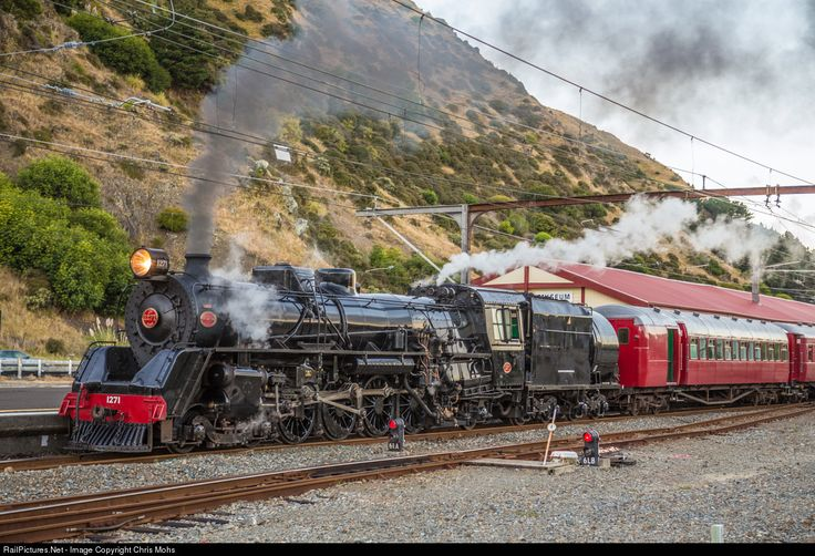 RailPictures.Net Photo: JA 1271 Steam Incorporated Steam 4-8-2 at Paekakariki, New Zealand by Chris Mohs