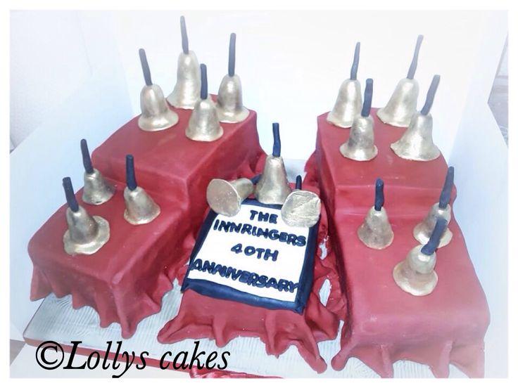 Bellringers anniversary cake