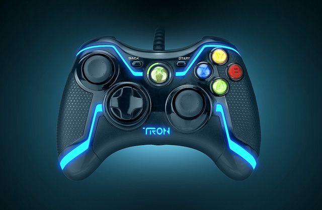 Xbox 360 Tron Controller
