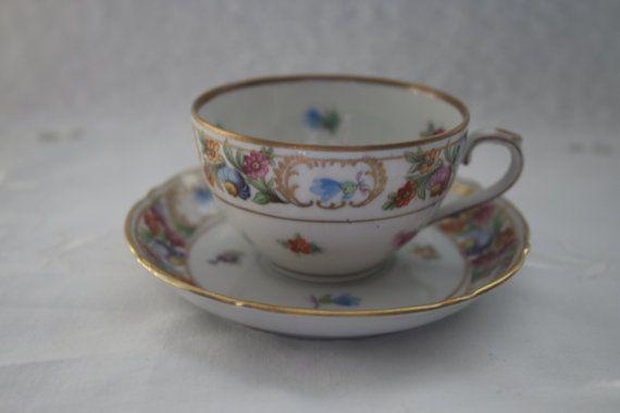 Schumann Bavaria Arzberg Demitasse Cup and Saucer by TinasDecor