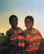 Princes Kwasi Boakye and Kwame Poku, c.1840