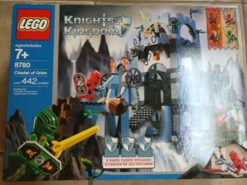 Lego 8781 Knights' Kingdom Citadel of Orlan Complete Set Manual Minifigures