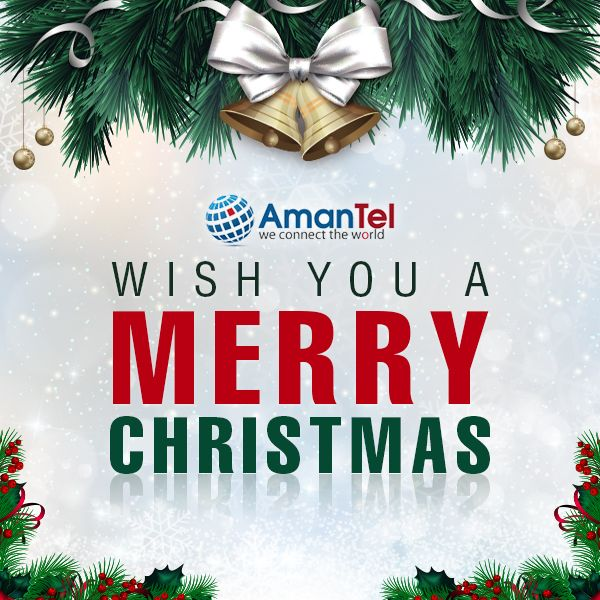 Amantel Wish You A Merry Christmas Day - Buy Online International Calling Card and Call from USA or Canada - http://www.amantel.com/international-calls/international-calling-cards-unique-offering-christmas