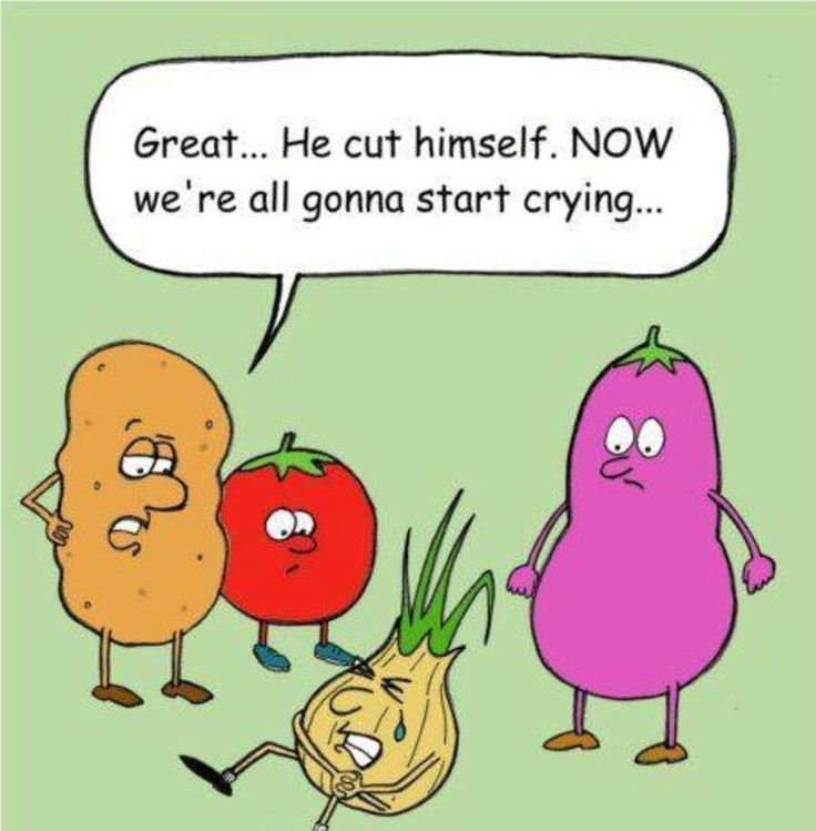 Great... He cut himself.Now we're all gonna start crying! #Saturday #Humour !