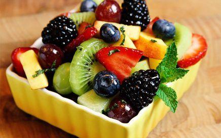 dieta dash - frutas e hortaliças