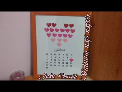 Please watch my new video ♥ https://www.youtube.com/watch?v=-8lz7Kk7JYM DIY - Valentin napi naptár   Valentine's day calendar