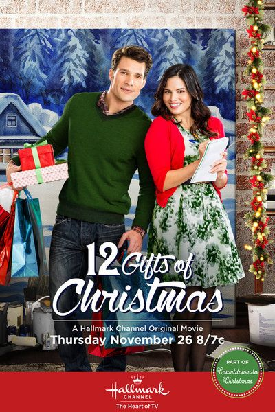 2015 Hallmark Christmas Movie ~ 12 Gifts of Christmas  ~ An unemployed artist gets hired as the personal holiday shopper for a high-strung corporate executive, and the pair soon begin to fall for each other.