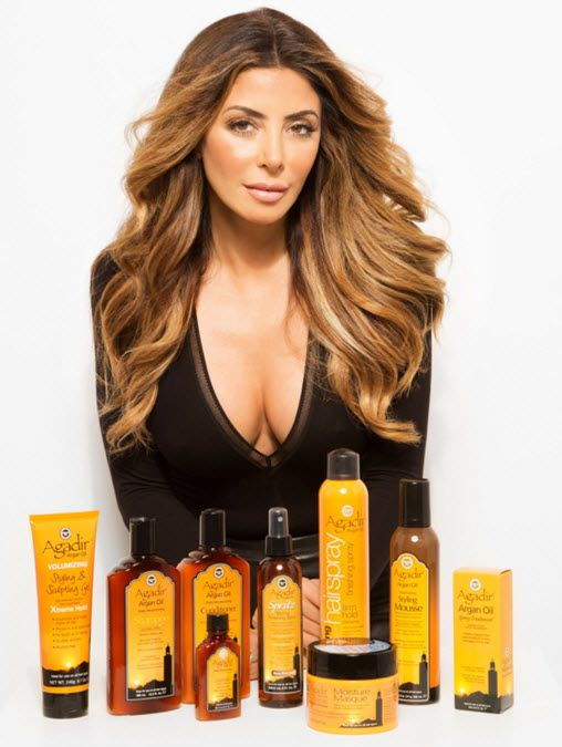 Larsa Pippen is the face of Agadir Argan Oil