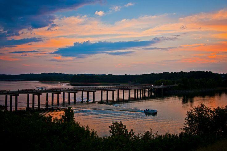 Lake Hartwell in Clemson, South Carolina