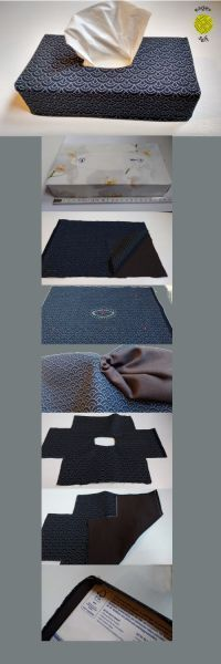 So you sew easy and fast a cover for your Tücherbox