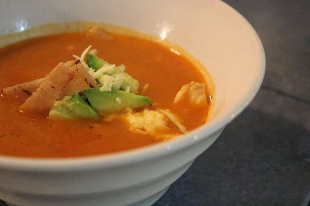 Sopa Azteca, Aztec Soup