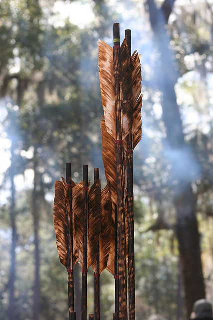 Phoenix feather arrows. They burnt whatever they touched and could cut through any armor. Never would our enemies ever get these.