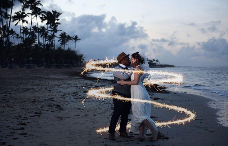Amanda & Bryan's  beach destination wedding in Punta Cana @destweds Photography by Tiffany Hopwood    Get more wedding ideas at DestinationWeddings.com >>