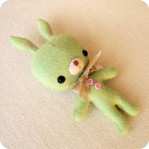 TagAlong Bunny pdf Pattern  Instant Download by Gingermelon, $5.00
