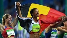 Olympics 2016: Nafissatou Thiam of Belgium wins gold medal in women's…