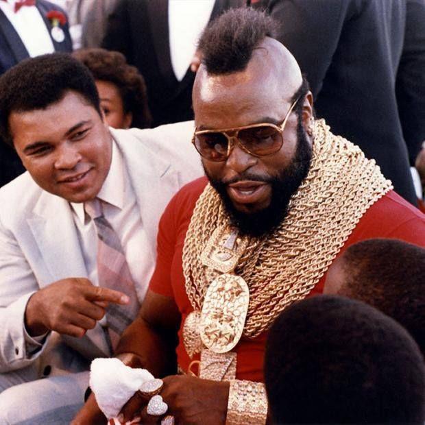 Ali & Mr. T