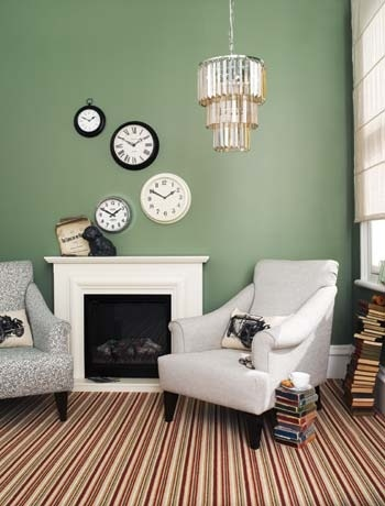 A Quirky Way To Display Range Of Clocks Image By Homebase
