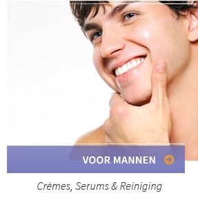 Ook voor de verzorging & verbetering van de mannenhuid biedt Claride de juiste producten!