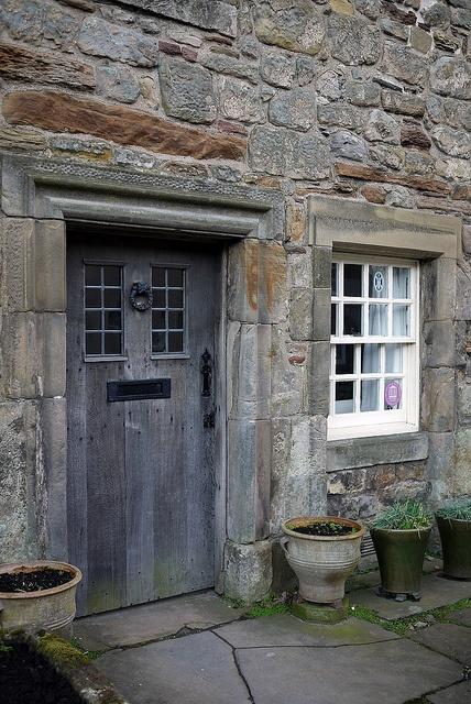1035 best images about stone cottages on pinterest for Cottage back door