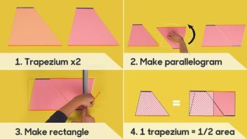 BBC Bitesize - How to prove the formula for the area of a trapezium
