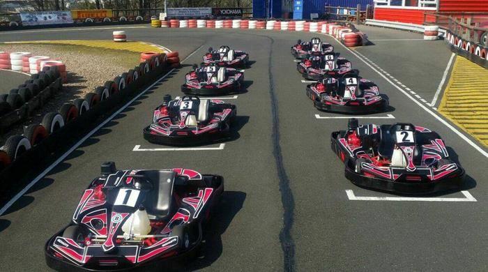 Start Line Karting South Yorkshire Race Track