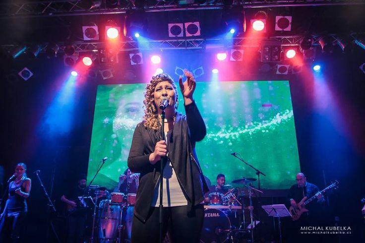 Vystoupení kapely v Lucerna Music Baru
