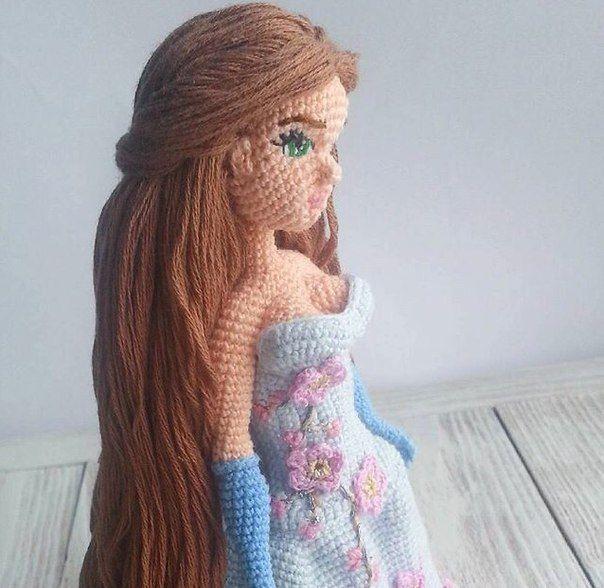 Восхитительная вязаная куколка Ольги Ольгинской <br>http://instagram.com/ledy.lynx