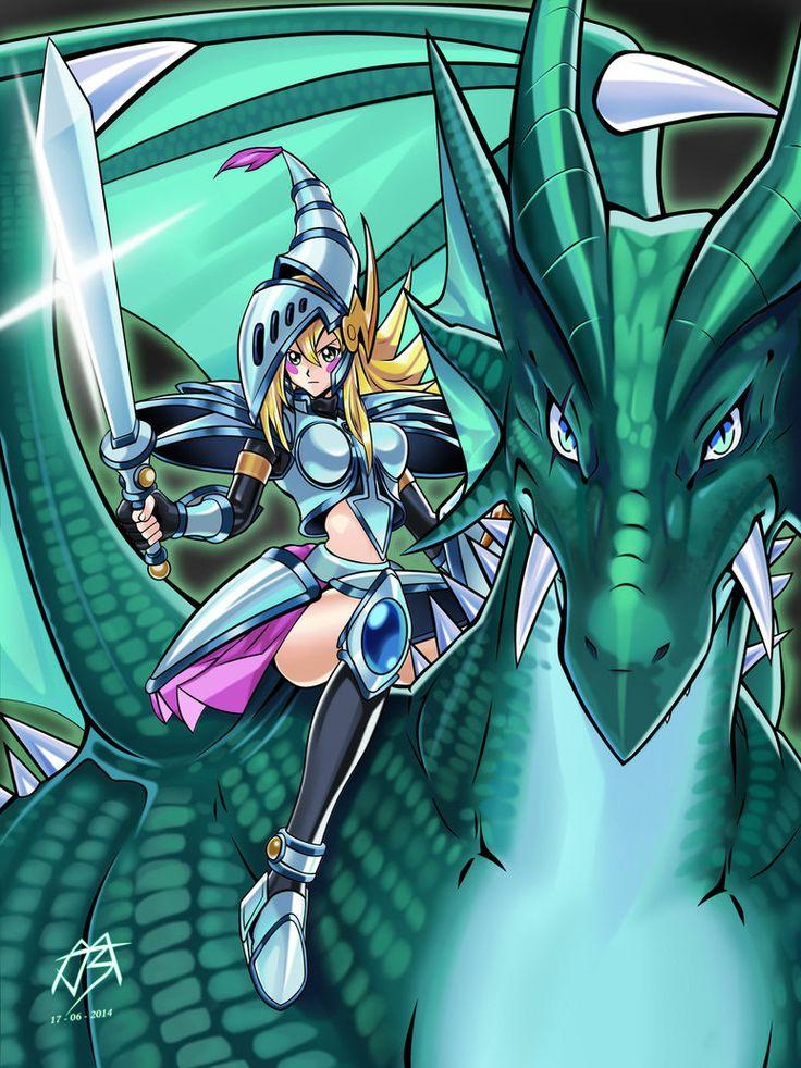 Dark Magician Girl the Dragon Knight by JMBravo220 ...