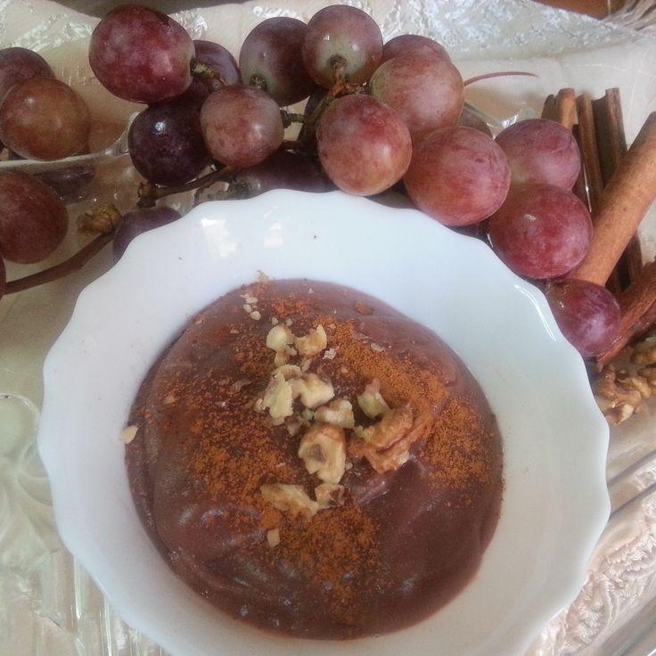 Momzcuisine : Grape Pudding a.k.a Moustalevria