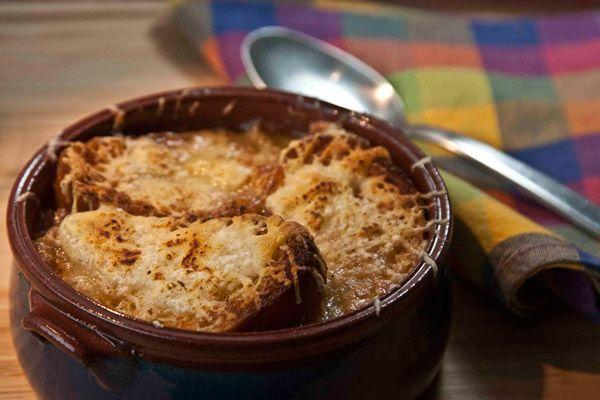 Γαλλική σούπα με κρεμμύδια